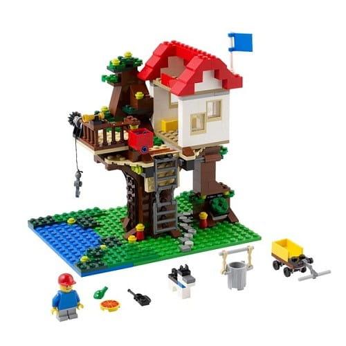Купить Конструктор Lego Creator Лего Криэйтор Домик на дереве в интернет магазине игрушек и детских товаров