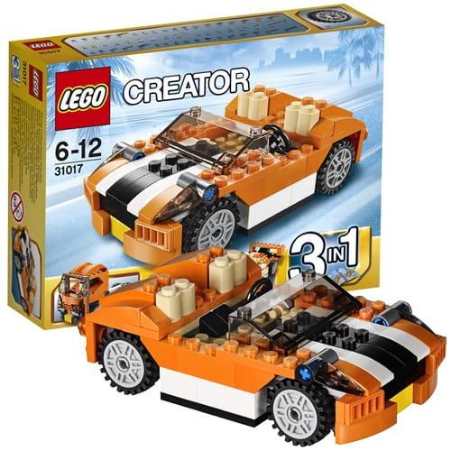 Купить Конструктор Lego Creator Лего Криэйтор Гоночная машина Сансет в интернет магазине игрушек и детских товаров