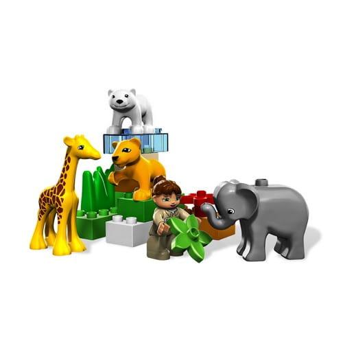 Купить Конструктор Lego Duplo Лего Дупло Зоопарк для малышей в интернет магазине игрушек и детских товаров