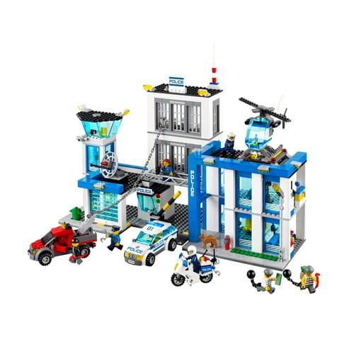 Конструктор Lego City Лего Город Полицейский участок