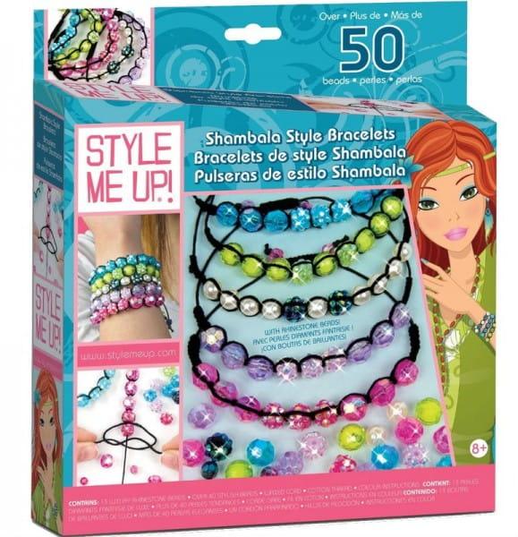 Купить Набор для рукоделия Style Me Up Браслеты Шамбала в интернет магазине игрушек и детских товаров