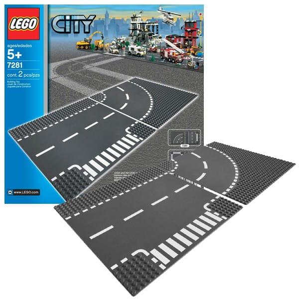 Конструктор Lego 7281 City Лего Город Т-образная развязка