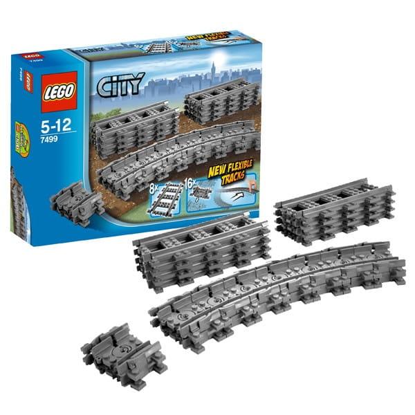 Конструктор Lego 7499 City Лего Город Гибкие пути