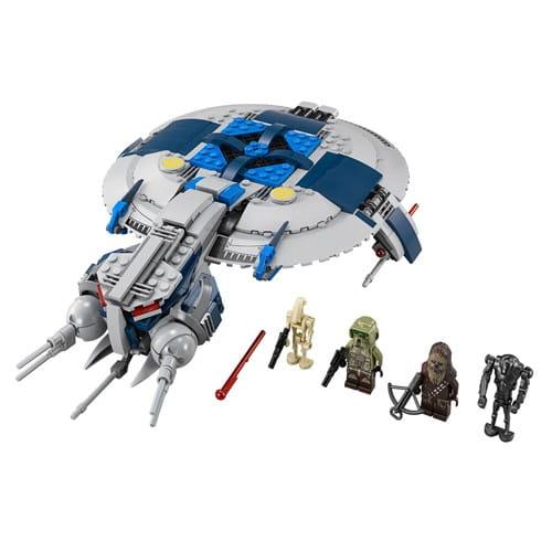 Купить Конструктор Lego Star Wars Лего Звездные войны Боевой корабль дроидов в интернет магазине игрушек и детских товаров