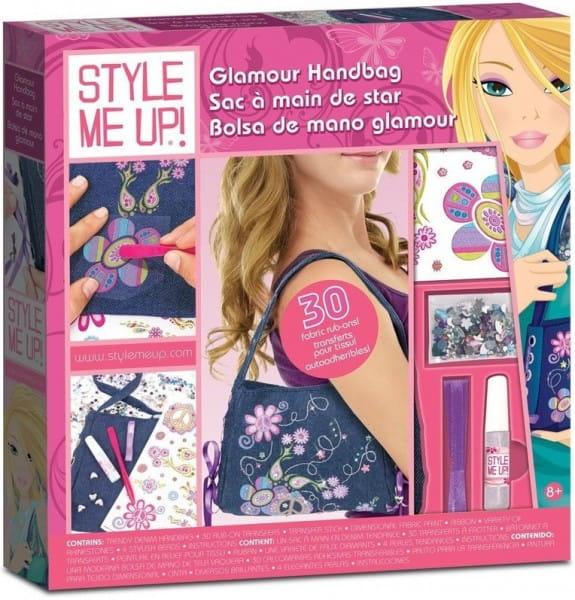 Купить Набор для рукоделия Style Me Up Джинсовая сумочка в интернет магазине игрушек и детских товаров