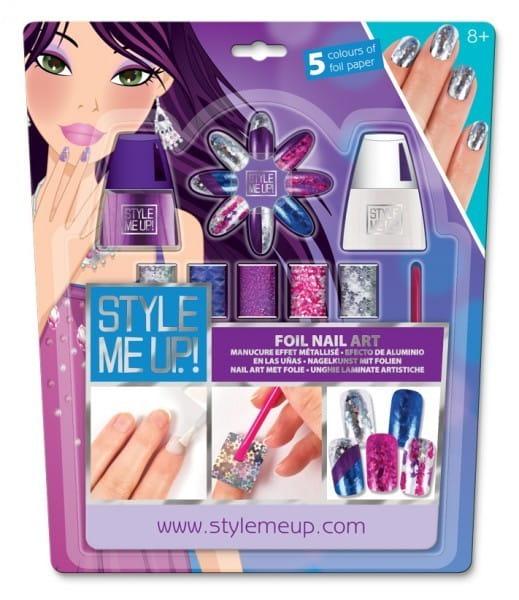 Купить Набор для творчества Style Me Up Голливудский маникюр - фиолетовый в интернет магазине игрушек и детских товаров