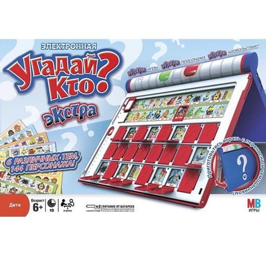 Купить Настольная игра Hasbro Угадай Кто? Экстра в интернет магазине игрушек и детских товаров