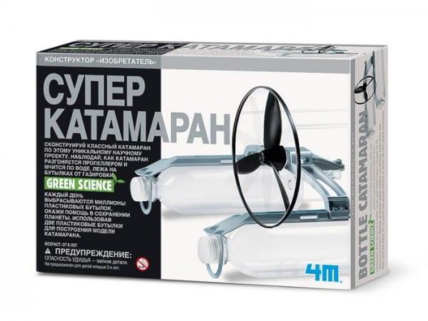 Купить Игровой набор 4M Супер катамаран в интернет магазине игрушек и детских товаров
