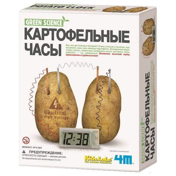 Купить Игровой набор 4M Картофельные часы в интернет магазине игрушек и детских товаров