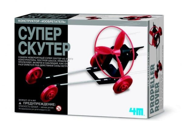 Купить Игровой набор 4M Супер скутер в интернет магазине игрушек и детских товаров
