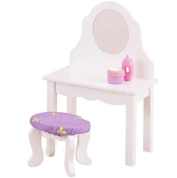 Купить Кукольный туалетный столик KidKraft в интернет магазине игрушек и детских товаров