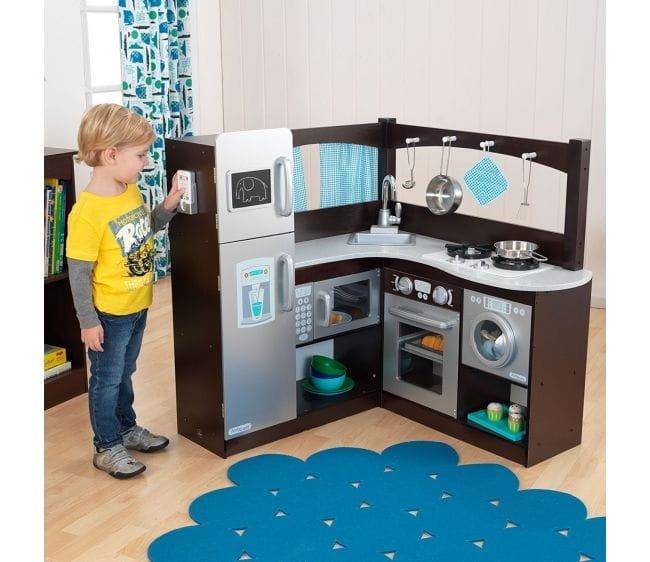 Купить Детская кухня KidKraft Эспрессо уголок в интернет магазине игрушек и детских товаров