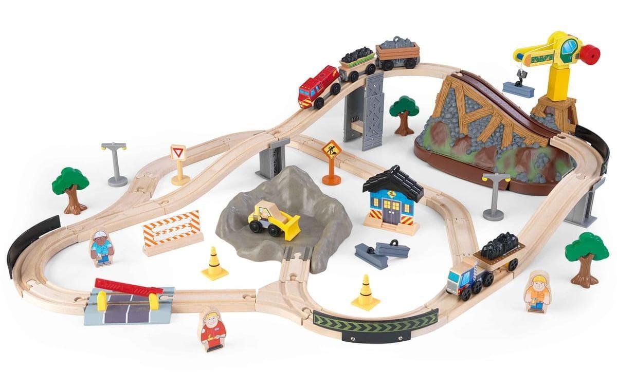 Купить Железная дорога KidKraft Горная стройка в интернет магазине игрушек и детских товаров
