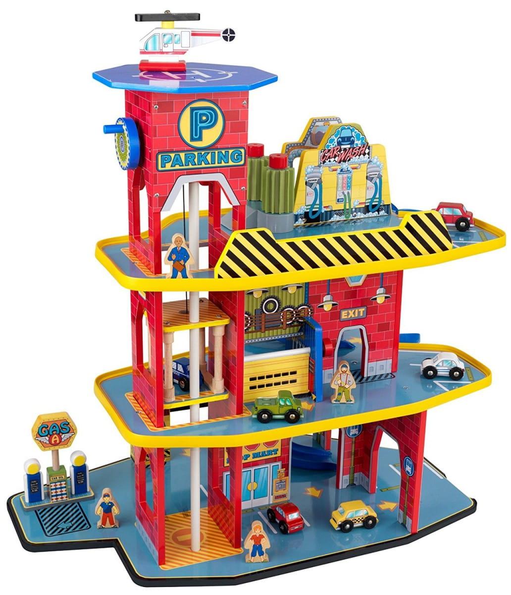 Купить Игровой набор KidKraft Паркинг Делюкс в интернет магазине игрушек и детских товаров