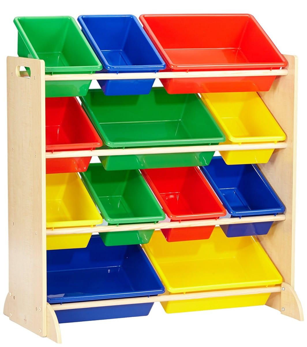 Система хранения KIDKRAFT с 12 контейнерами