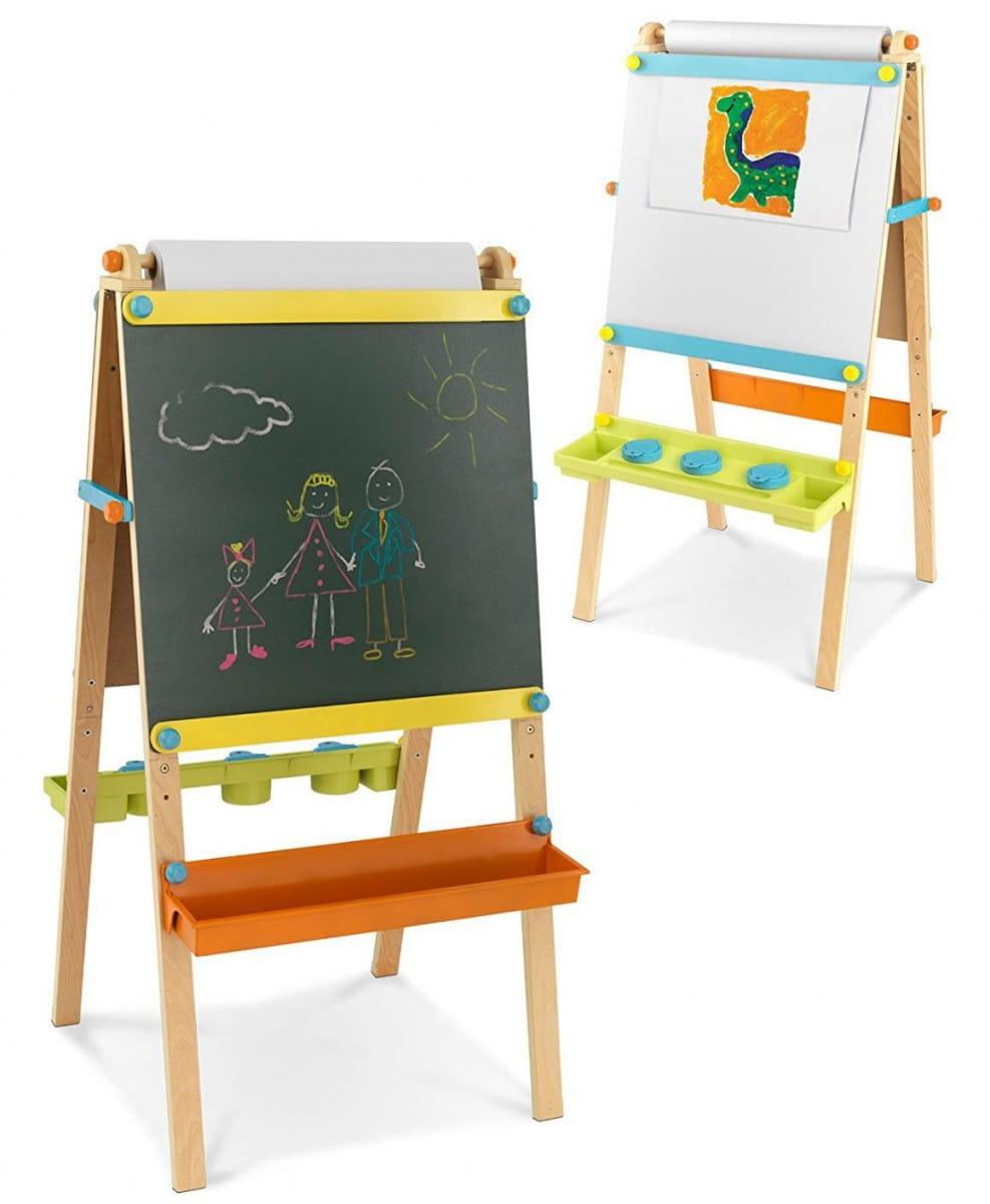Купить Детский двусторонний мольберт KidKraft из дерева в интернет магазине игрушек и детских товаров
