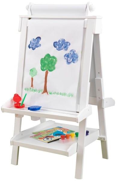 Купить Детский двусторонний мольберт KidKraft Делюкс в интернет магазине игрушек и детских товаров