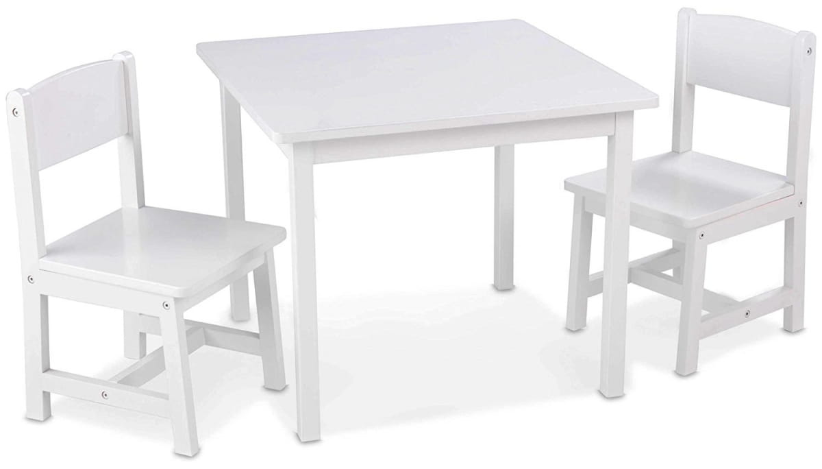 Набор детской мебели KidKraft 21201_KE Аспен - белый