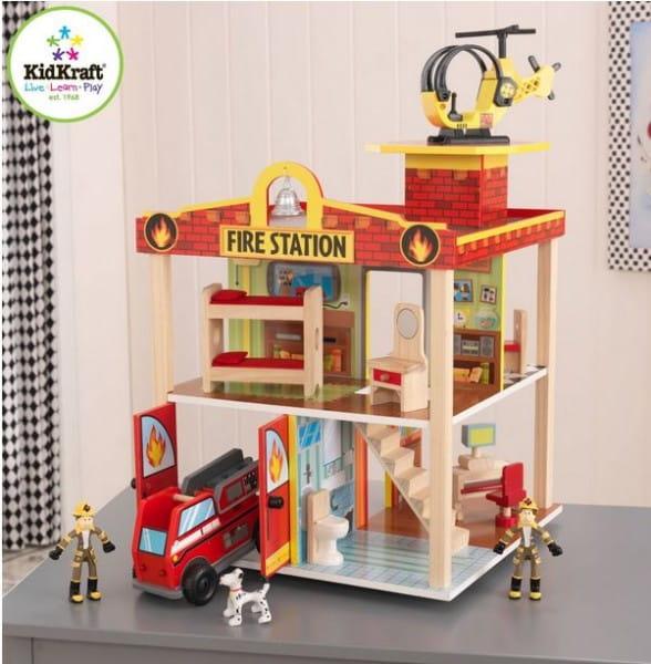 Купить Игровой набор KidKraft Пожарная станция в интернет магазине игрушек и детских товаров