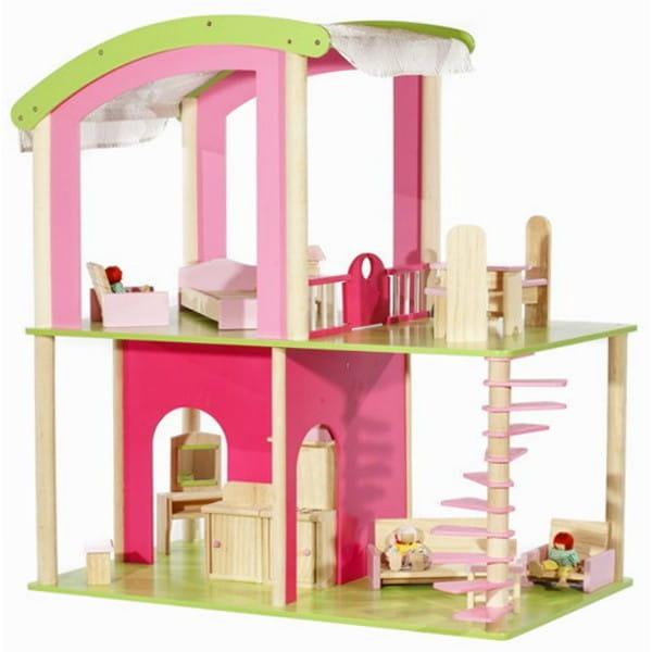 Кукольный домик с мебелью и куклами Craft Флоренция
