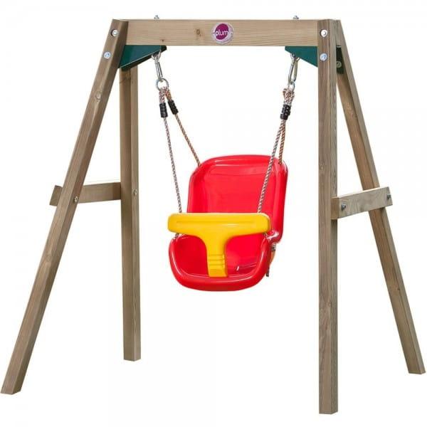Купить Качели для малышей Plum (с пластиковым сидением) в интернет магазине игрушек и детских товаров