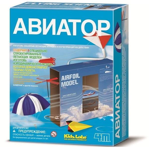 Купить Игровой набор 4M Авиатор в интернет магазине игрушек и детских товаров