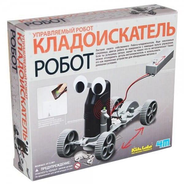 Игровой набор 4M Управляемый робот кладоискатель