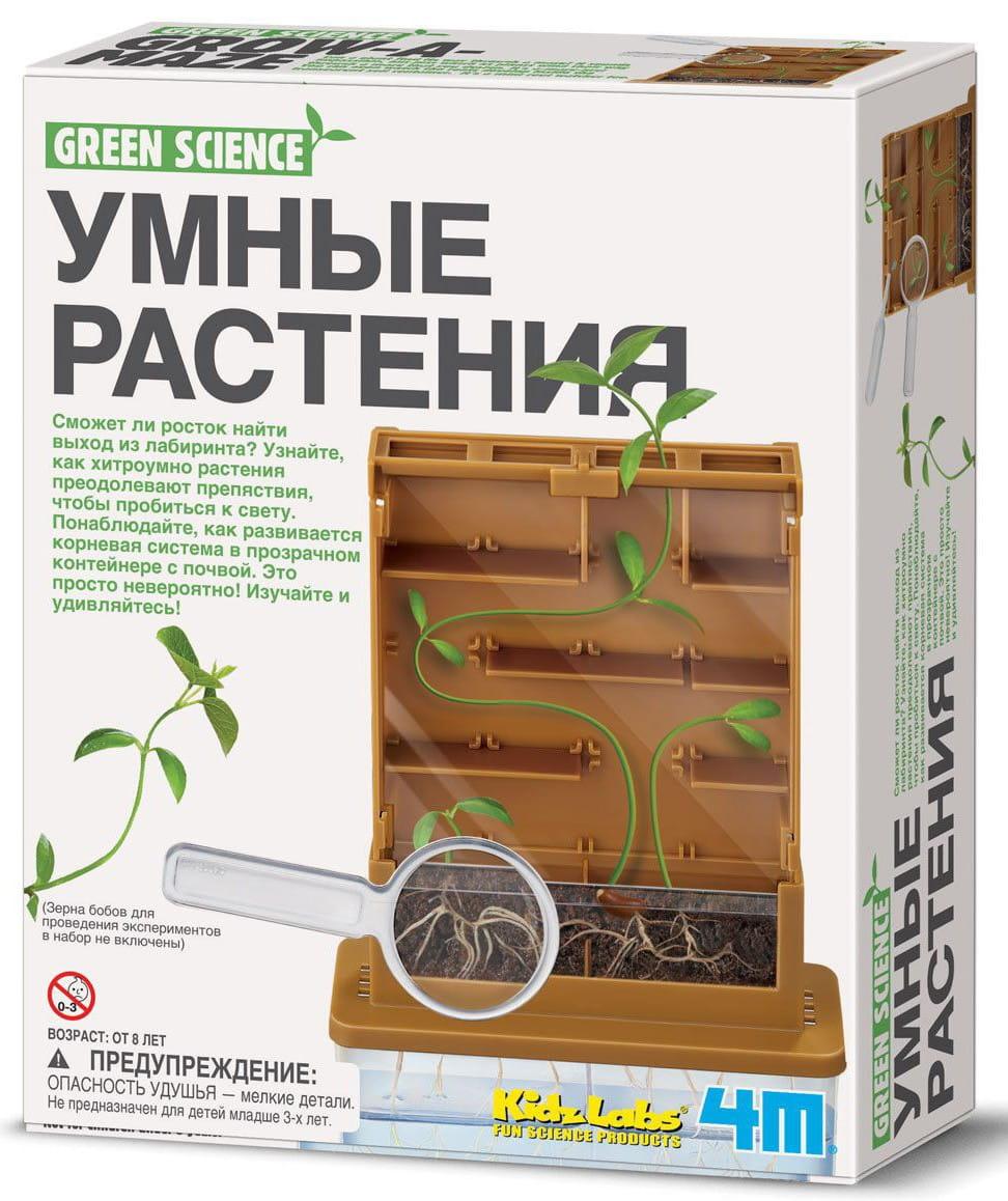 Игровой набор 4M Умные растения