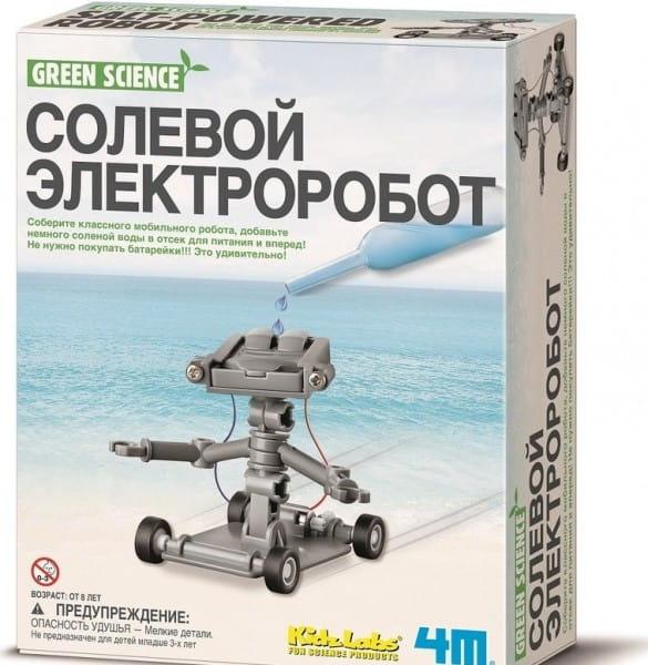 Игровой набор 4M 00-03353 Солевой электроробот