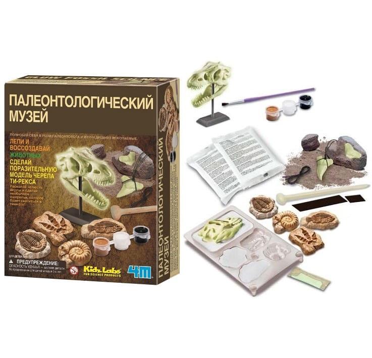 Игровой набор 4M 00-03356 Палеонтологический музей