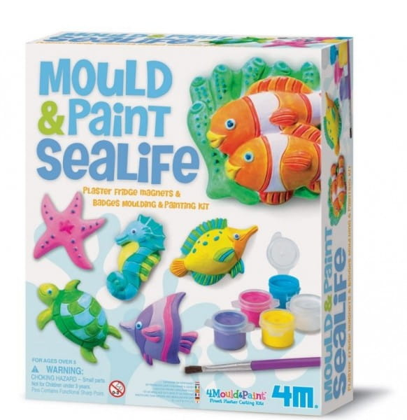 Набор для творчества 4М Морские животные на магнитах