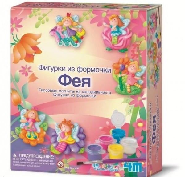 Купить Набор для творчества 4М Фигурки из формочки - Фея в интернет магазине игрушек и детских товаров