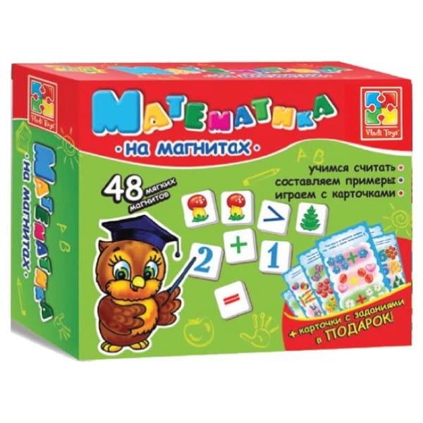 Развивающая игра Vladi Toys VT1502-04 Мягкие пазлы - Математика на магнитах