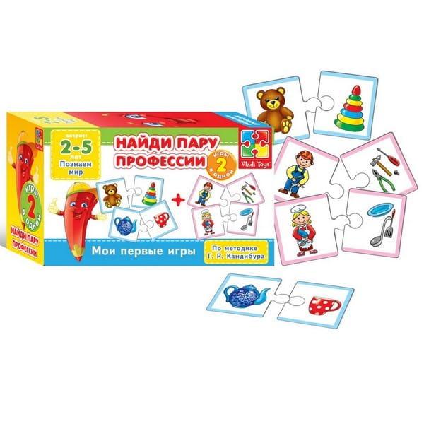 Купить Мои первые игры Vladi Toys Угадай сказку. Эмоции (2 в 1) в интернет магазине игрушек и детских товаров