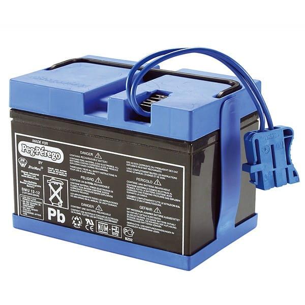Купить Аккумулятор Peg-Perego 12В 12 А/ч в интернет магазине игрушек и детских товаров