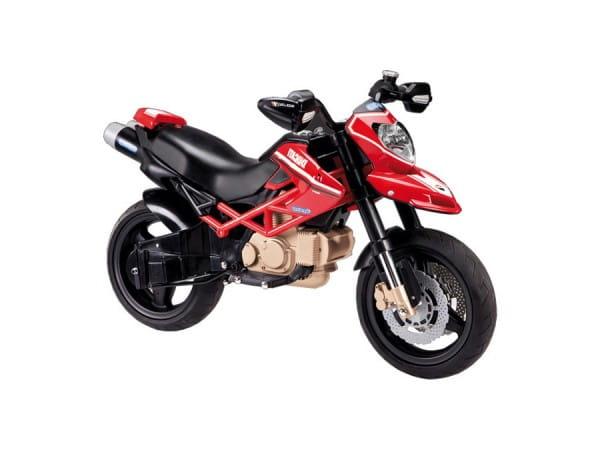 Купить Детский электромотоцикл Peg-Perego Ducati Hypermotard в интернет магазине игрушек и детских товаров