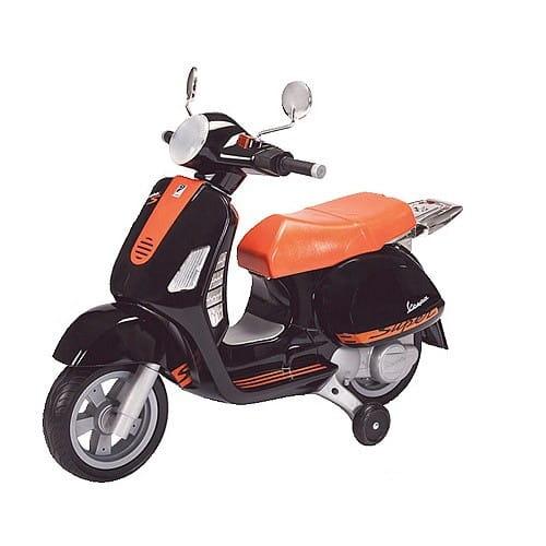 Купить Детский электроскутер Peg-Perego Vespa Special (с багажником) в интернет магазине игрушек и детских товаров
