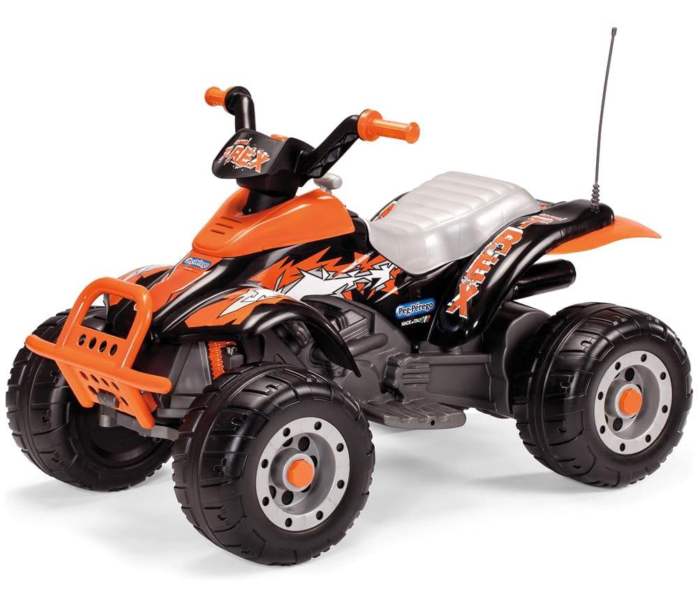 Детский электромобиль Peg-Perego OR0066 Corral T-Rex - оранжевый