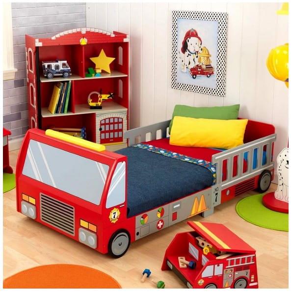 Детская кровать KidKraft 76031_KE Пожарная машина