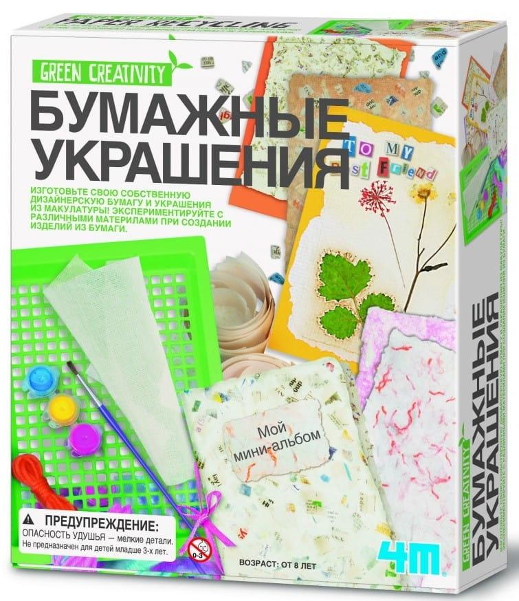 Набор для творчества 4M 00-04562 Бумажные украшения