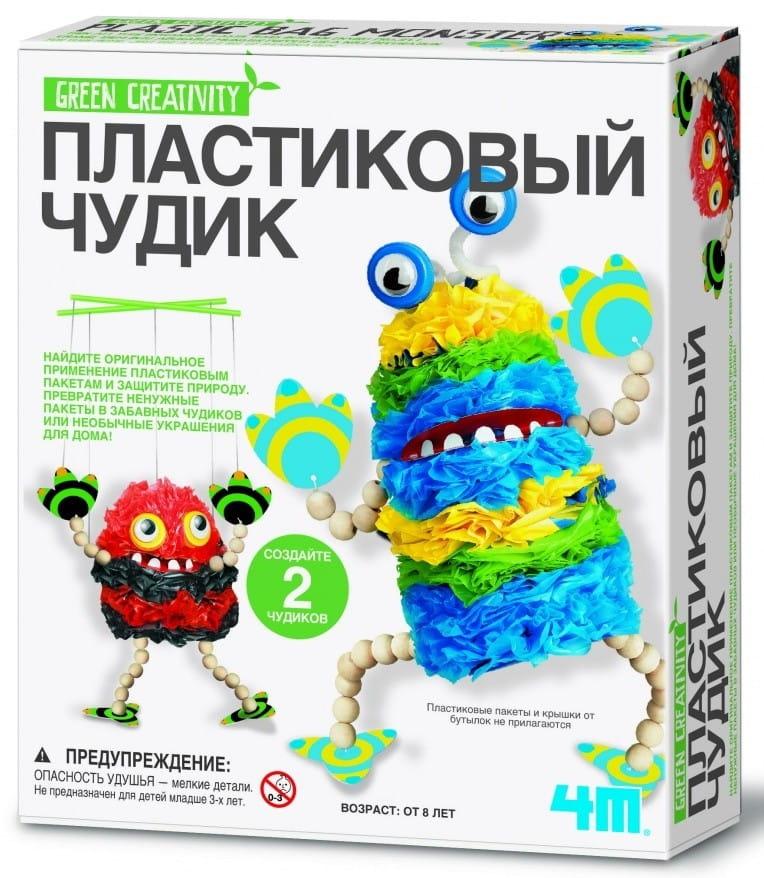 Набор для творчества 4M 00-04580 Пластиковый чудик