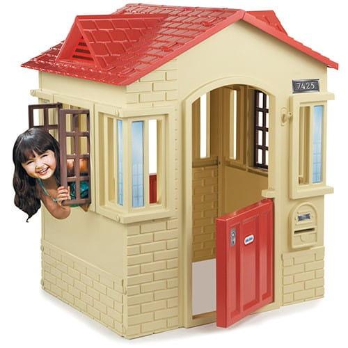 Купить Игровой домик Little Tikes - бежевый в интернет магазине игрушек и детских товаров