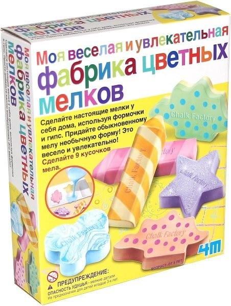Набор для творчества 4M 00-04597 Фабрика цветных мелков