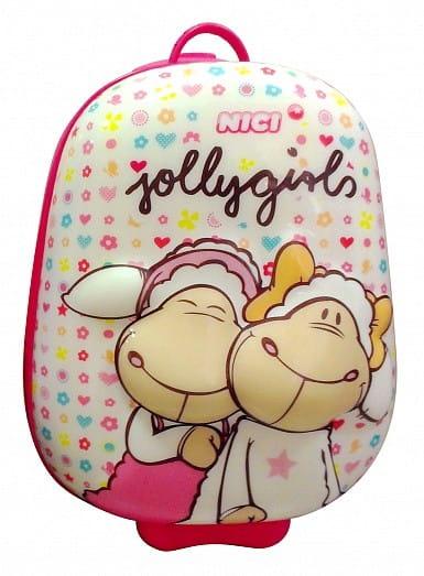 Купить Детский чемодан First Steps Ники - Овечки в интернет магазине игрушек и детских товаров