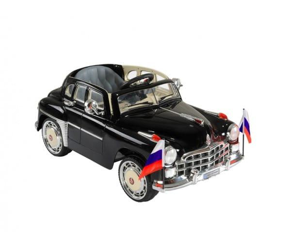 Купить Электромобиль River Toys ГАЗ Победа в интернет магазине игрушек и детских товаров