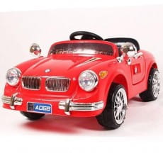 Фото Электромобиль River Toys BMW retro