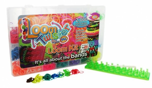 Купить Большой набор Loom Twister для плетения фенечек в интернет магазине игрушек и детских товаров