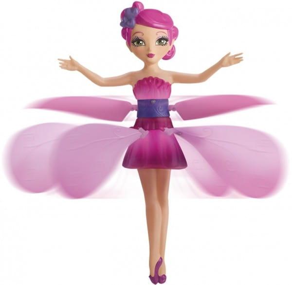 Купить Летающая фея Flying Fairy, парящая в воздухе - розовая (Spin Master) в интернет магазине игрушек и детских товаров