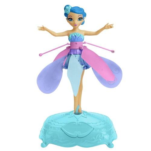 Купить Летающая фея Flying Fairy, парящая в воздухе - голубая (Spin Master) в интернет магазине игрушек и детских товаров