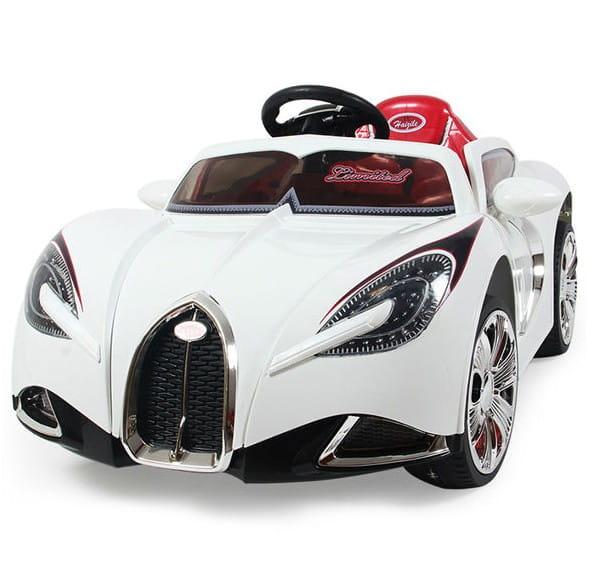 Купить Электромобиль River Toys Bugatti 2 в интернет магазине игрушек и детских товаров